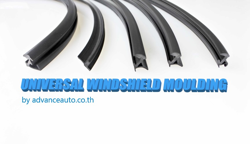 How to save money by Universal windshield molding trim